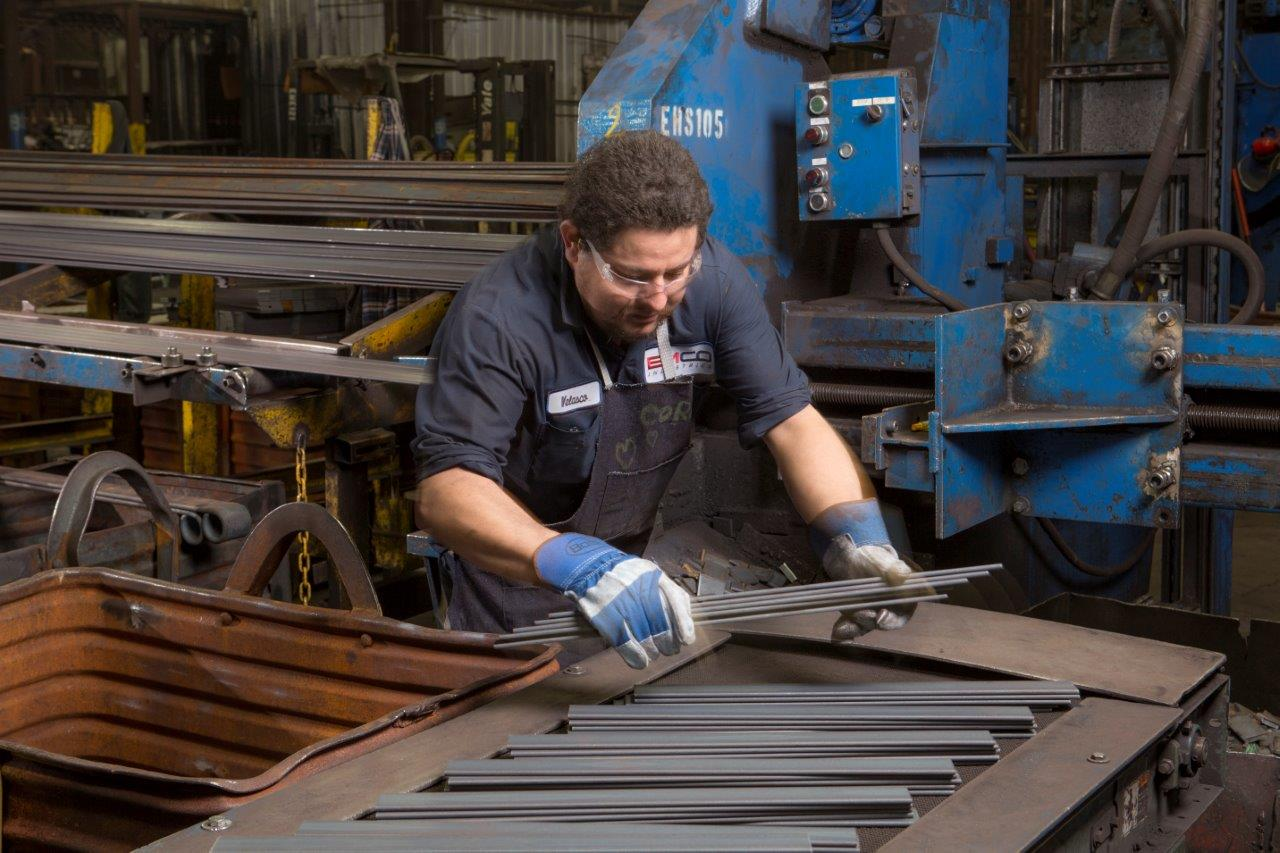Production of Leaf Spring at EMCO Industries Claremore, Oklahoma